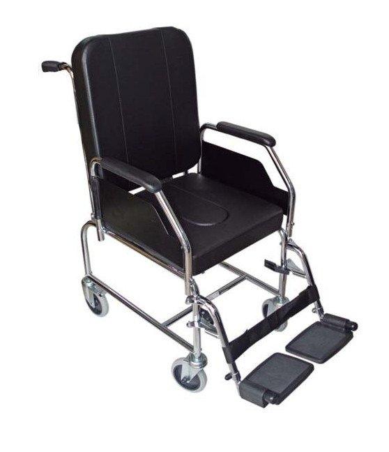Silla de ruedas de interior con inodoro - Silla de ruedas con inodoro ...