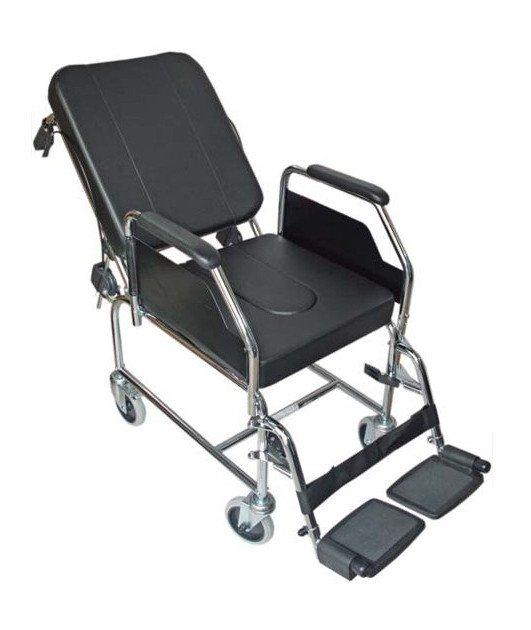 Silla de ruedas de interior con inodoro - Alquiler silla de ruedas barcelona ...