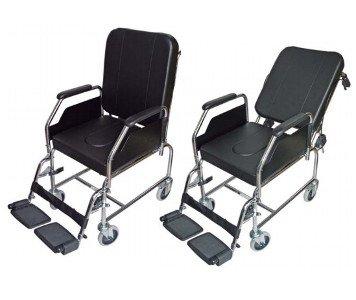Silla de ruedas de interior con inodoro - Alquiler de sillas de ruedas electricas ...