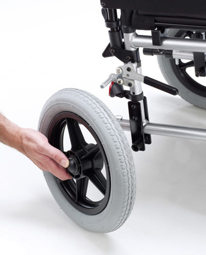Silla de ruedas mec nica venetto - Reposacabezas silla de ruedas ...